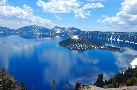 Crater Lake National Park, OR: Crater Lake - Summer
