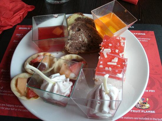 Red Hot World Buffet: Yummy dessert