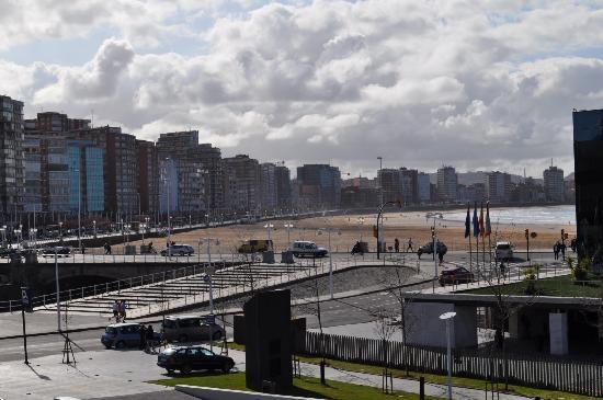 NH Gijón: Vistas desde la 214