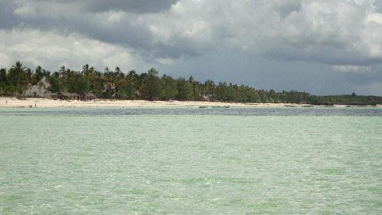 Veraclub Zanzibar Village: vista dal mare