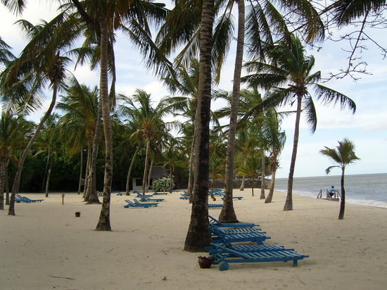 Sandies Coconut Village: la spiaggia privata
