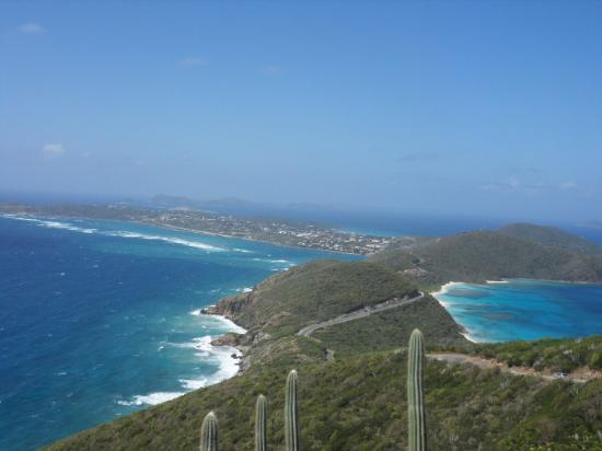 Virgin Gorda: Atlantic meets the Caribbean Sea