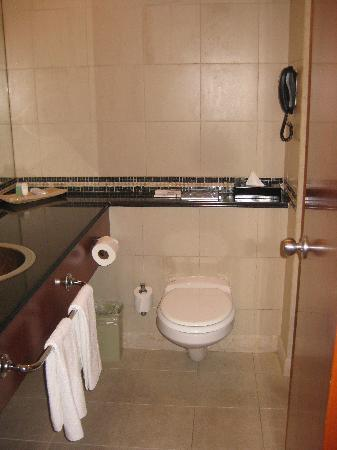 Leonardo City Tower Hotel: bathroom