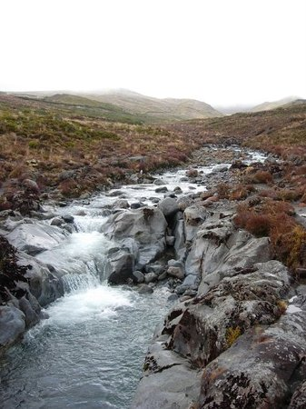 Tongariro National Park, Nya Zeeland: Volcanic waters