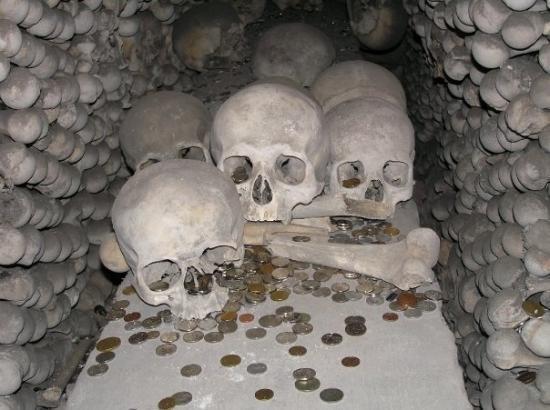 Sedlec Chapel: The creepy photos of human bones were taken at the Sedlec Ossuary, need the town of Kutna Hora i
