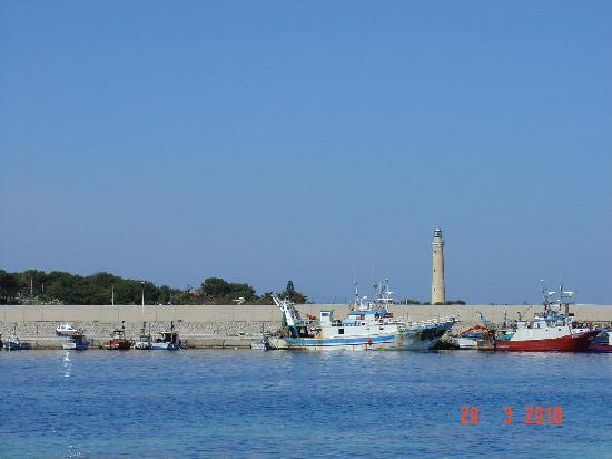 Ai Dammusi : San Vito Lo Capo, Fishing Port and Lighthouse