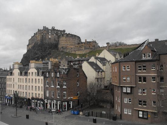 Apex City of Edinburgh Hotel: Castle View