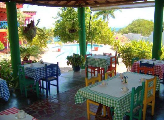 La Posada de Dona Romelia: Breakfast Place