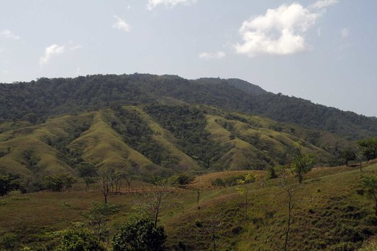 Veraguas Province, Panama: The most eastern side of the mountain range of Cerro Hoya.
