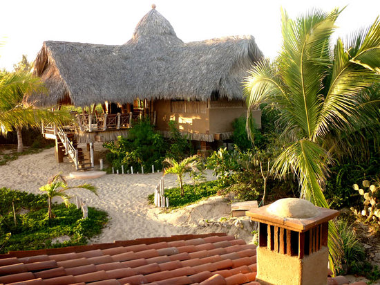 Playa Viva: guest casita surrounded by quiet