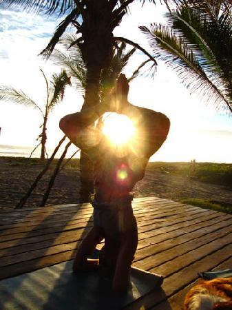 Playa Viva: Morgan, our yoga teacher