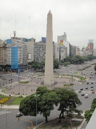 NH Buenos Aires Tango: Vista desde el hotel