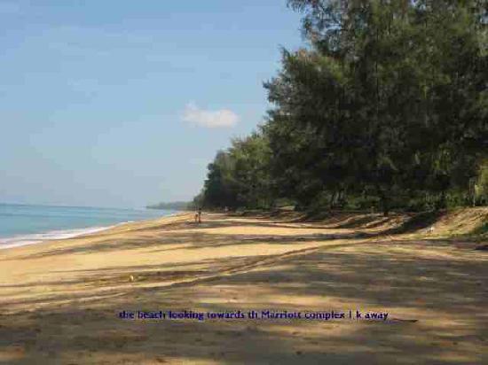 Renaissance Phuket Resort & Spa: the beach