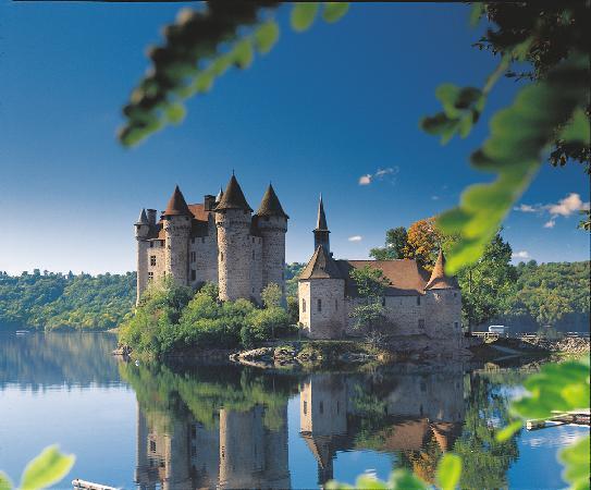 Correze, Francia: Château de Val à Bort les Orgues