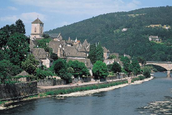 Correze, Frankreich: Argentat