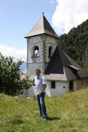 St. Stefan an der Gail, Østerrike: Da bin ich ein bissl platt vom hochklettern - dabei war das noch gar nix!