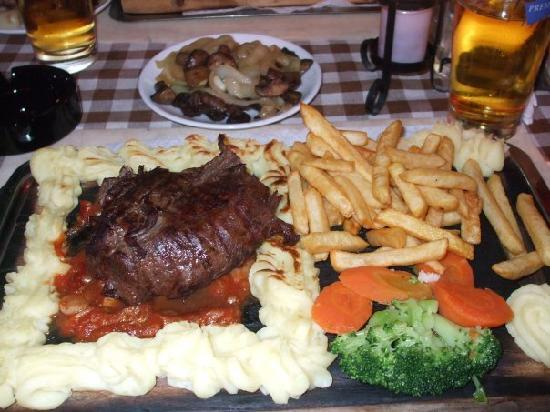 Plank steak picture of natalie 39 s steak house marmaris for S kitchen steak house