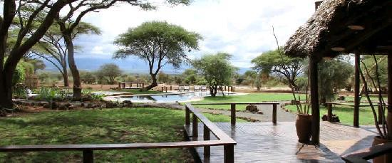 Tawi Lodge: Fresh water natural swimming pool at the foot hill of the Kilimanjaro