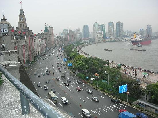 Shanghaiansk, Kina: The Bund
