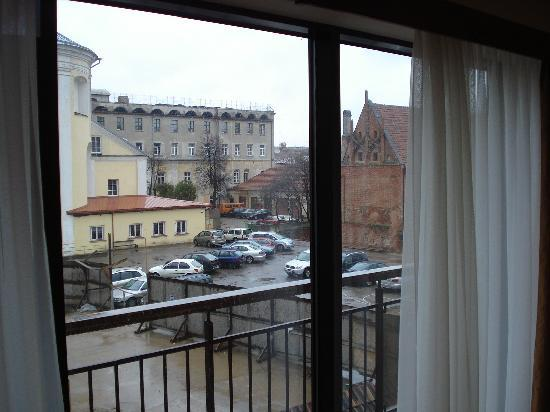 Daugirdas Hotel: 2nd part of view from room