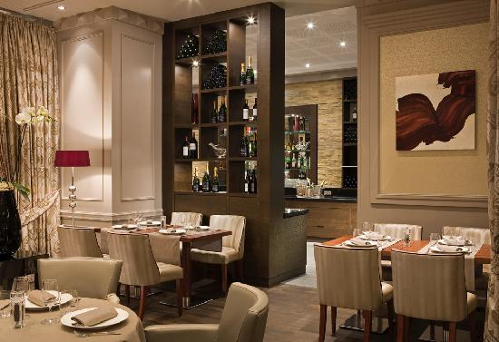 Paris Marriott Opera Ambassador Hotel : Restaurant 16 Haussmann