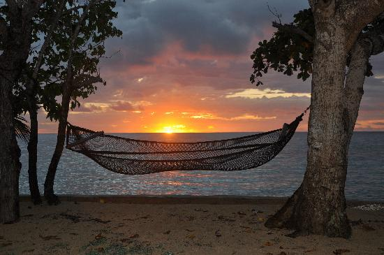 Mai Dive - Astrolabe Reef Resort : Picture Perfect Sunset