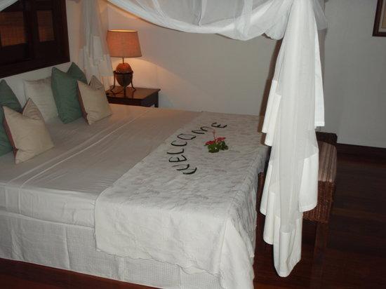 Desroches Island: inside our villa