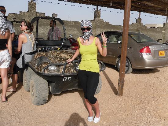 Tropicana Rosetta & Jasmine Club: The sand buggy trip - a must
