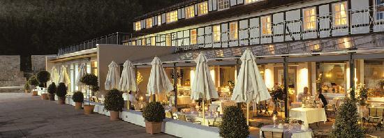 Hardenberg BurgHotel: Restaurant Terrasse