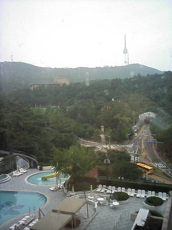 The Shilla Seoul: 窓からの景色
