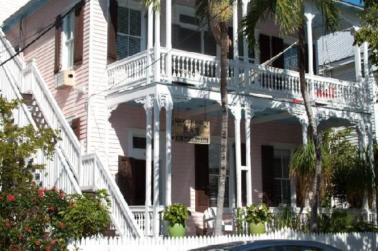 Key West Bed and Breakfast: Popular House front