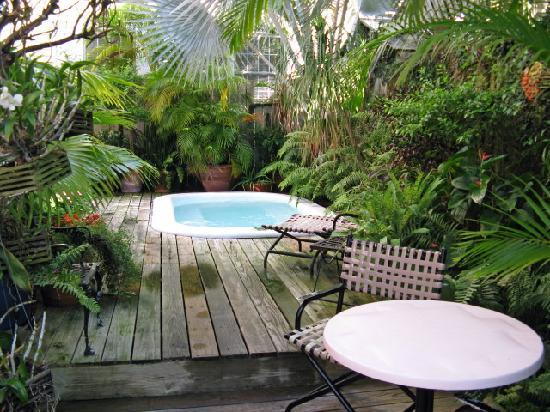 Key West Bed and Breakfast: spa pool