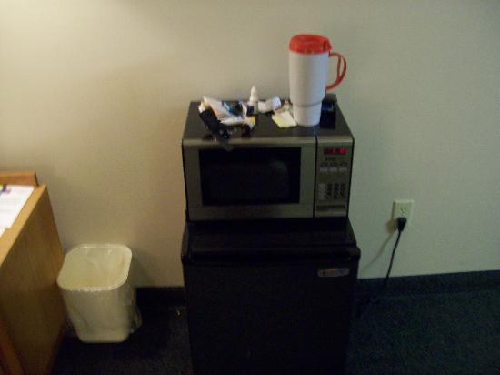 Comfort Inn Birch Run: Mini fridge and microwave
