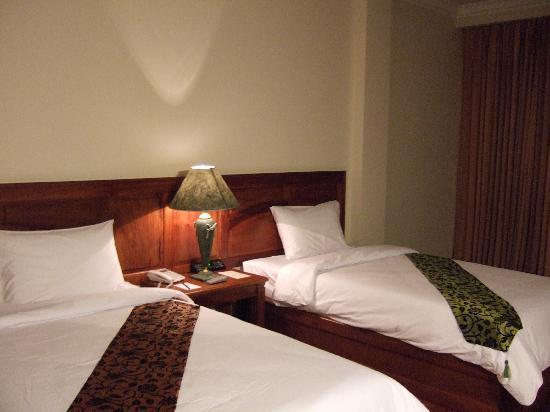 Pacific Hotel & Spa: ベッド