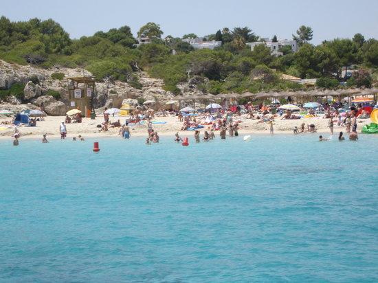 Calas de Mallorca, España: spiaggia vicina all hotel