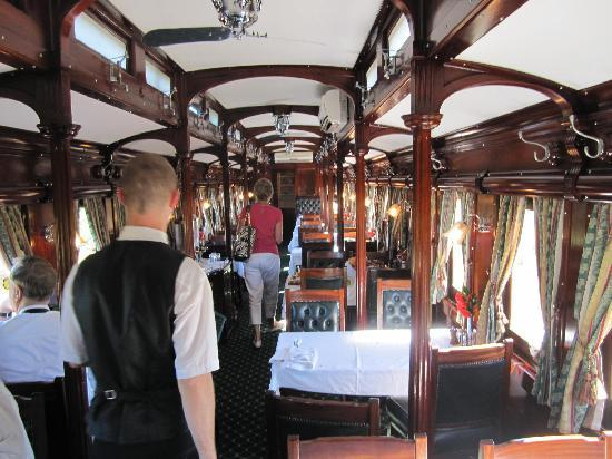 St James Manor: One of the Rovos Dinning Cars