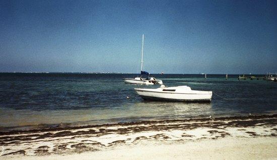 Las Perlas Condos: beach