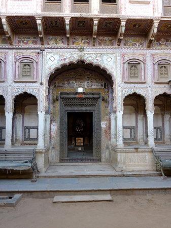 Jhunjhunu, India: haveli à Nawalgarh