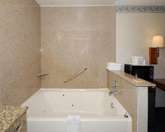 Econo Lodge Near Stub Hub Center: King Guestroom with Jacuzzi