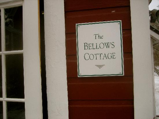 Inn at Valley Farms B&B, Cottages and Vacation Farmhouse: Bellows Cottage