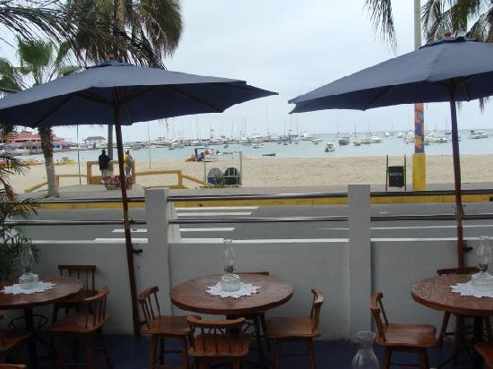 Cocos Hotel: Terraza Vista al Mar