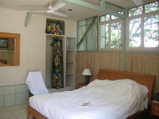 Rainforest Dreams Bed & Breakfast: One of the patio rooms.