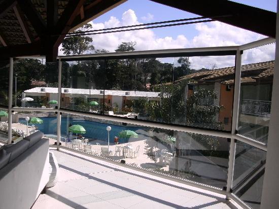Portal do Mundaí Praia Hotel: vista do hall superior