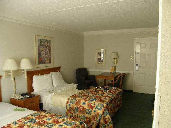 La Quinta Inn Chicago Oakbrook Terrace: Double Bed Room
