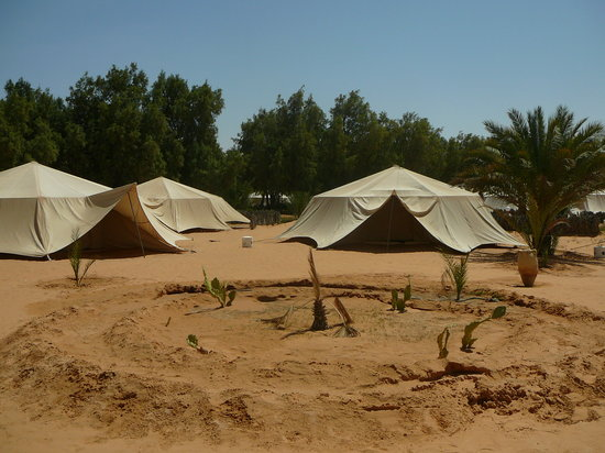 Camp Yadis Ksar Guilane: le tende