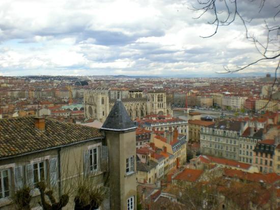 Vieux Lyon : Vista de Lyon.