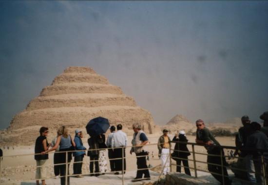 Saqqara, Egypt: Sakkara pyramid 20th Nov 03