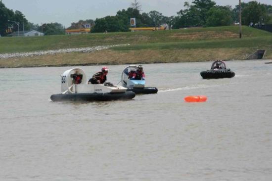 Swamp Buggy Races: hovercraft races