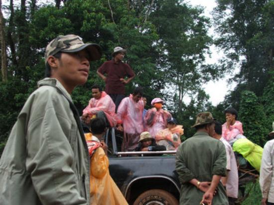 Kratie, Kambodsja: FAMILY DEL VIAJE