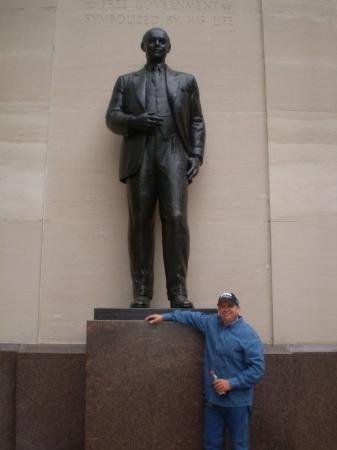 Bilde fra Franklin Delano Roosevelt Memorial